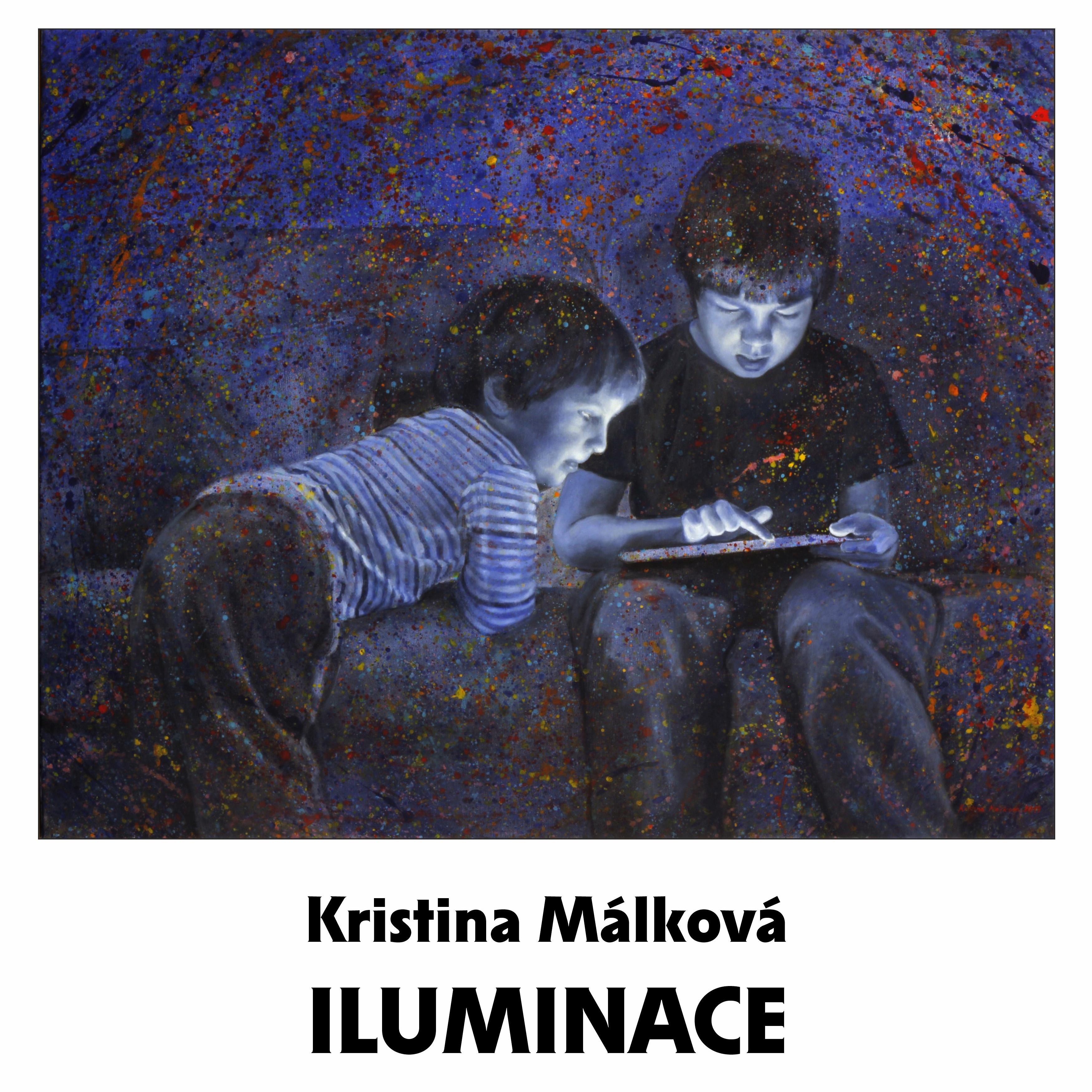 Plakat A3 - Malkova - čtverec